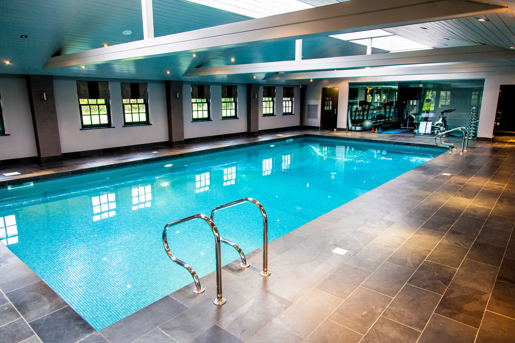 Case study of gareth louise s pool in sproston preston - Preston hotels with swimming pool ...